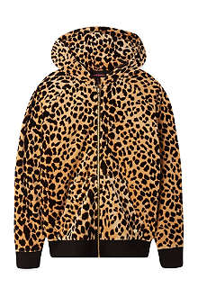JUICY COUTURE Aop leo hooded track top 7-14 years