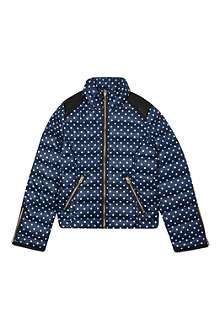 JUICY COUTURE Polka-dot quilted jacket 7-14 years