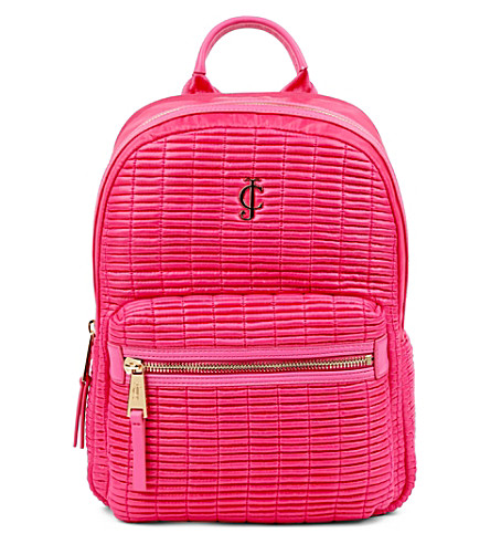 JUICY COUTURE Westlake nylon backpack (Dragonfruit