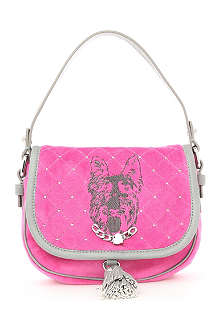JUICY COUTURE Scottie dog satchel bag