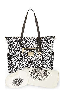 JUICY COUTURE Leopard print changing bag