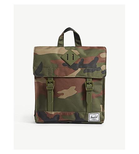 HERSCHEL SUPPLY CO Survey camouflage print backpack