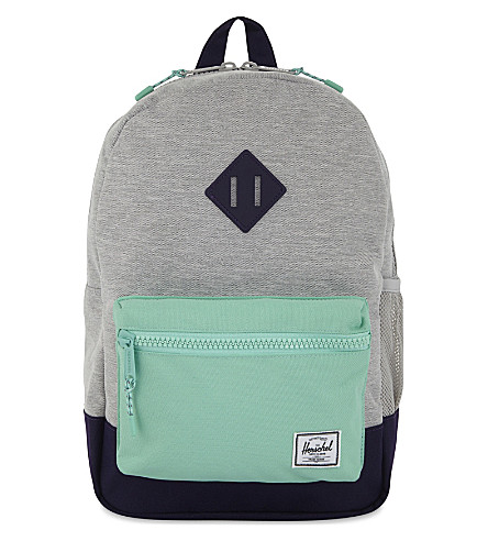 HERSCHEL SUPPLY CO Logo backpack (Light+grey