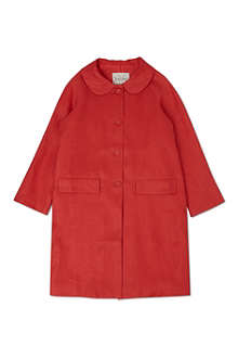 RACHEL RILEY Buttoned swing coat 4-10 years