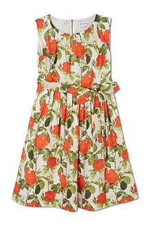 RACHEL RILEY Silk Rose Print dress 3-10 years