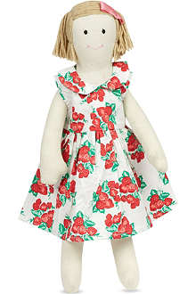 RACHEL RILEY Strawberry tie dress doll
