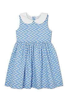RACHEL RILEY Cat print sleeveless dress 3-7 years