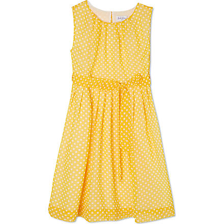 RACHEL RILEY Polka-dot dress 3-10 years (Yellow