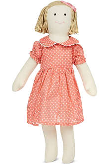 RACHEL RILEY Polka dot dress doll