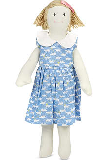 RACHEL RILEY Cat print dress doll