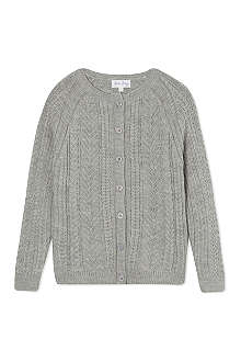 RACHEL RILEY Cable knit cardigan 3-10 years