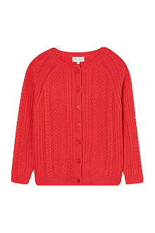 RACHEL RILEY Wool cable cardigan 8 years