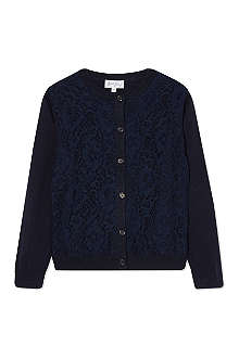 RACHEL RILEY Lace cardigan 8 years
