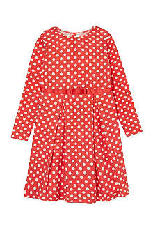 RACHEL RILEY Polka dot jersey dress 3-10 years