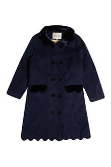 RACHEL RILEY Scalloped coat 8 years