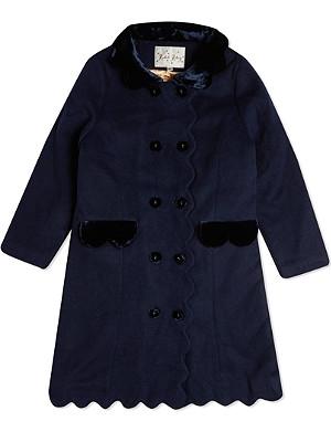 RACHEL RILEY Scalloped coat 8 years