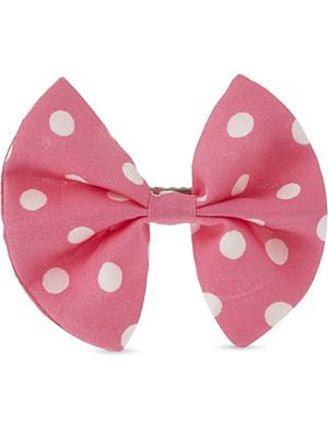 RACHEL RILEY Polka-dot hair bow