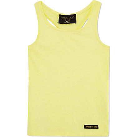 FINGER IN THE NOSE Gwenn vest 4-14 years (Yellow