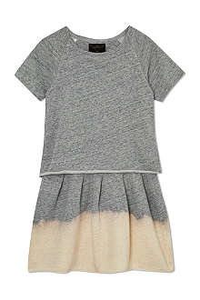 FINGER IN THE NOSE Wilma dip dye sweater dress 4-14 years