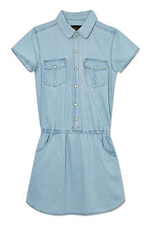 FINGER IN THE NOSE Pippa denim shirt dress