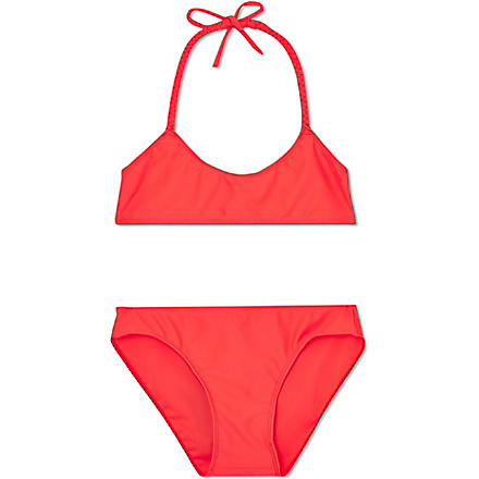 FINGER IN THE NOSE Rio two piece swimsuit 8-14 years (Coral