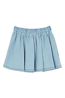 FINGER IN THE NOSE Annix chambray skirt 4-14 years
