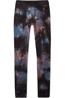 FINGER IN THE NOSE Lou Black tie-dye leggings 4-16 years