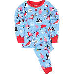 HATLEY Bird print pyjama set 2-7 years