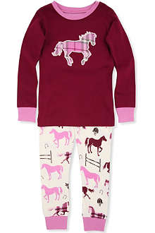 HATLEY Horse print pyjama set 2-8 years