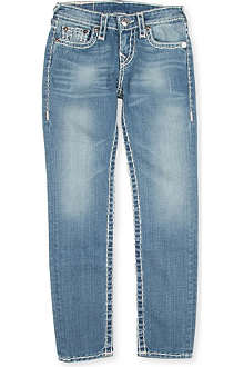 TRUE RELIGION Stella Super T skinny jeans 4-14 years