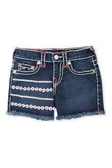 TRUE RELIGION Bobby denim shorts 4-12 years