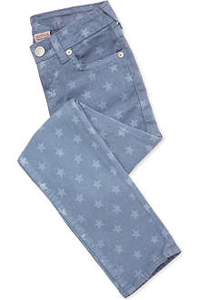 TRUE RELIGION Casey star-print slim-fit jeans 4-14 years
