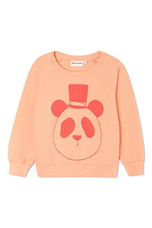 MINI RODINI Mr Panda sweatshirt 2-11 years