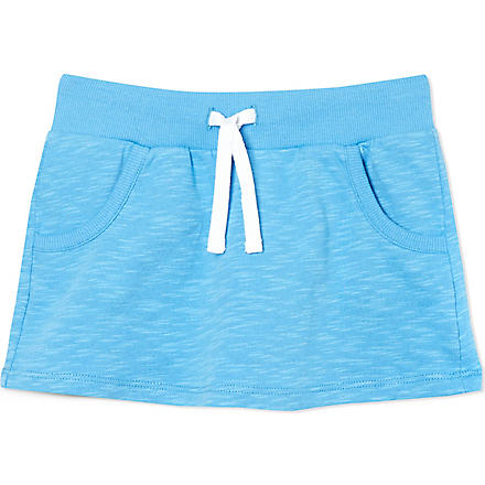 MINI RODINI Terry jersey skirt 2-11 years (Blue