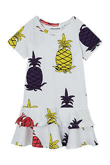 MINI RODINI Mr Pineapple print dress 2-11 years