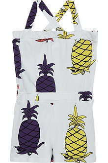 MINI RODINI Pineapple print playsuit 2-11 years