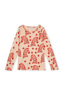 MINI RODINI Zebra long-sleeve t-shirt 2-11 years