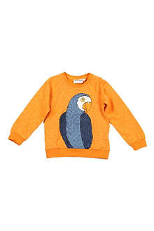 MINI RODINI Parrot jumper 3 months-11 years