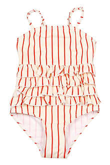 MINI RODINI Striped swimsuit 9 months-11 years