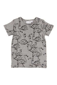 MINI RODINI Flamingo t-shirt 9 months-11 years