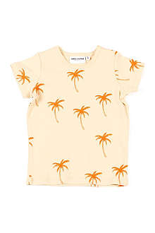 MINI RODINI Palm tree t-shirt 3 months-11 years