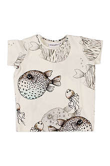 MINI RODINI Fish t-shirt 9 months-11 years