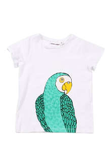 MINI RODINI Parrot t-shirt 9 months-11 years