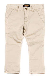MINI RODINI Twill chino trousers 3 months-11 years