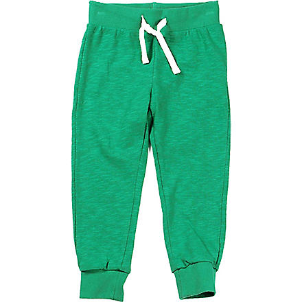 MINI RODINI Jogging bottoms 3 months-11 years (Green