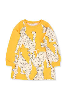 MINI RODINI Snow leopard dress 2-11 years