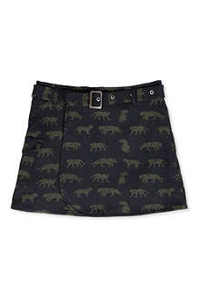 KENZO Tiger all-over print skirt 6-12 years
