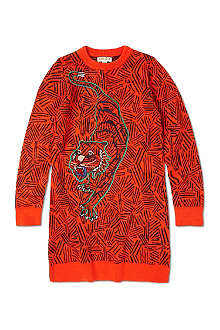 KENZO Tiger jumper dress 6-16 years