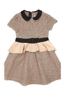 KENZO Collar bow detail dress 4-12 years