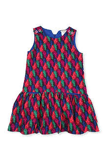 KENZO Feather dress 4-12 years